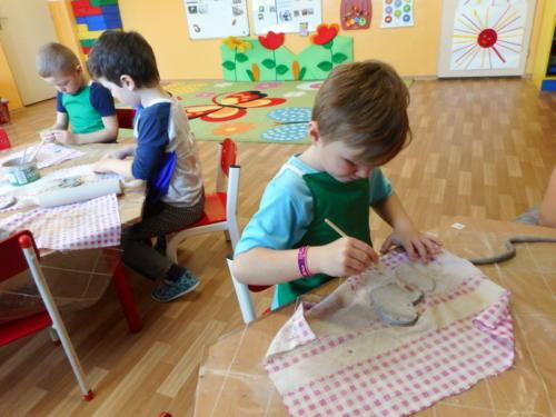 Řemeslný den s keramickou hlínou