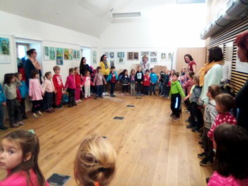 setkání českých a německých mateřských škol v Srní-10.4.2019