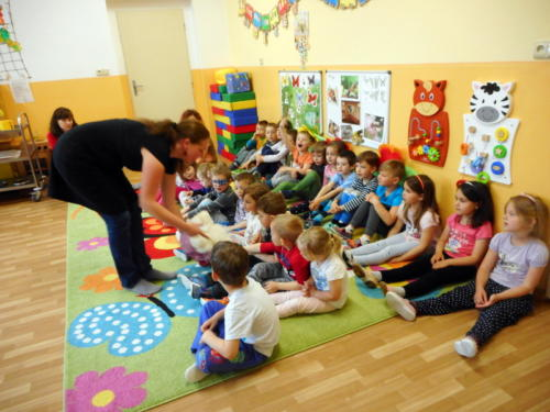 Projektový den v mateřské škole: Na vlně